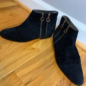 Bruno Magli Suede Ankle Booties